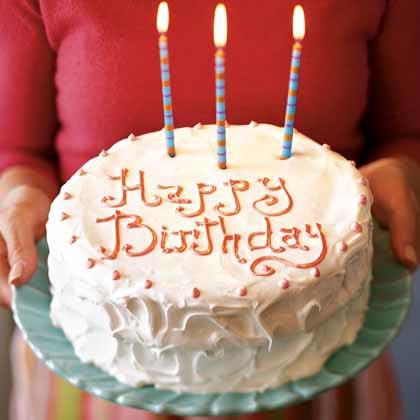 Birthday Cake GFCF
