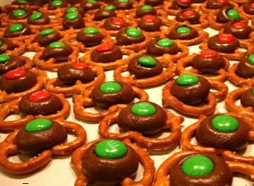 how to make chocolate pretzels with hershey kisses