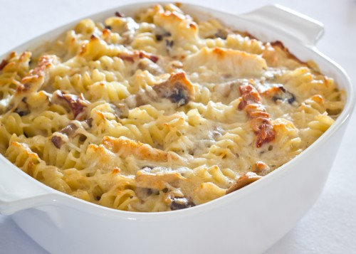 Baked-Rotini-with-Chicken-and-Tomatoes-500x357