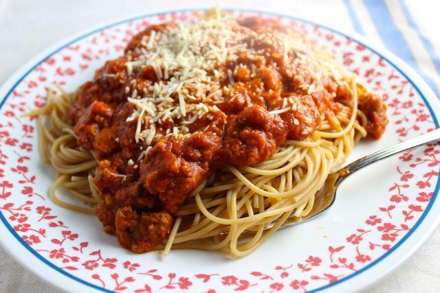 Meatloaf-Spaghetti